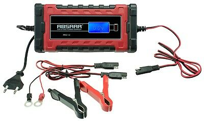 Absaar pro 1.0 Fully Automatic Trickle Charger 1 Amp 6/12 V Battery