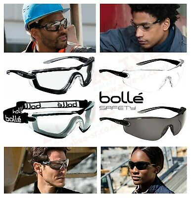 Bolle COBRA Safety Glasses Spectacles Goggles UV Protection