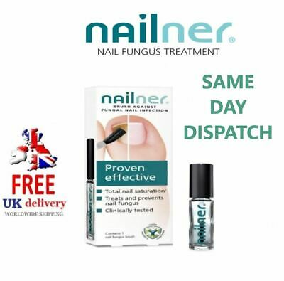 Nailner Brush - Anti Nail Fungal Treatment Proven Effective 5ml 300 Application