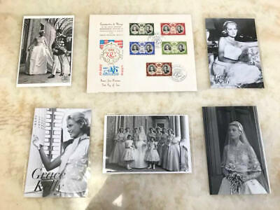 New article unused Monaco Grace Kelly Postcard Envelope Set rare from japan 7L