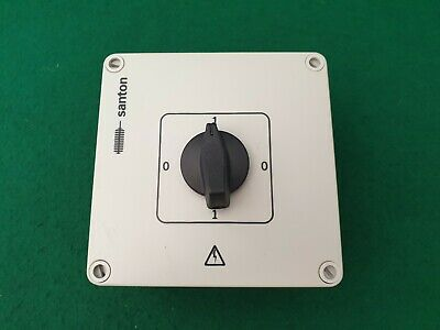 Santon 4 Position Switch 16 Amp ON-OFF-ON-OFF W18/2010