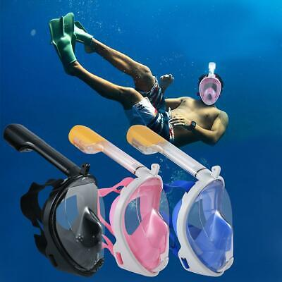 Seaview Snorkel Mask Full Face Wide 180° View Panoramic Compatible with VILR 02
