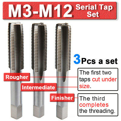 NEW 1pc Metric Right Hand Tap M17X1mm Taps Threading Tools 17mmX1mm pitch