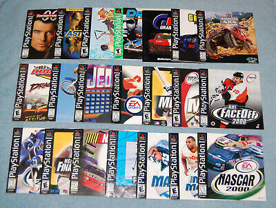 EA Sports Madden NFL 2001 Sony Playstation 1 (PS1) (Manual Only)