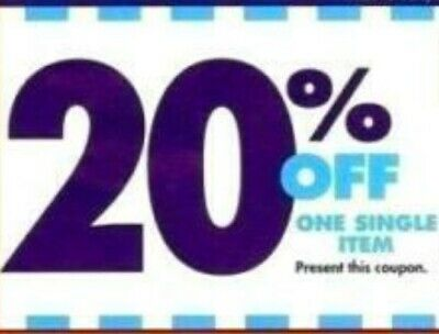 BED BATH & BEYOND 20% OFF Single Item - Use online / in store - Non expired