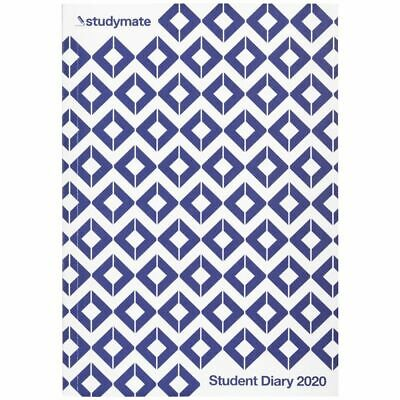 Studymate A5 Week to View 2020 Student Diary Geo