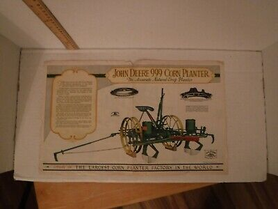 John Deere 2 /& 4 Row Corn Planter For 1950 Dealer Brochure DCPA3