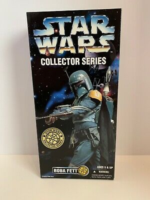 Star Wars Collector Series Boba Fett 12 Inch Action Figure  PERFECT  Mandalorian