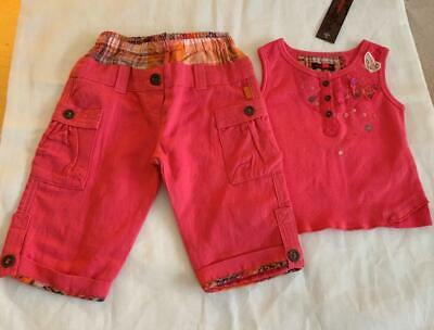 CATIMINI Baby Girls 6mth TOP & BOTTOM SET/OUTFIT - NEW
