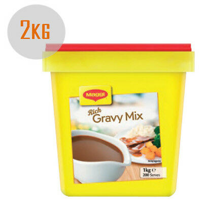 Maggi Classic Rich Gravy Mix 2kg (2x 1Kg) [Long Expiry Date] Made in NZ
