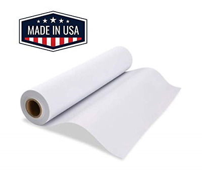 """Made in USA White Butcher Paper Roll 17.75"""" x 1200"""" 100ft, FDA Approved, Ideal"""