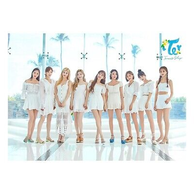 TWICE - POP UP STORE Twaii's Shop Official Trading Card Photocard poster A3