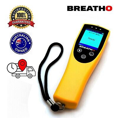 Breatho Professional Fuel Cell Breathalyser. Active and passive modes