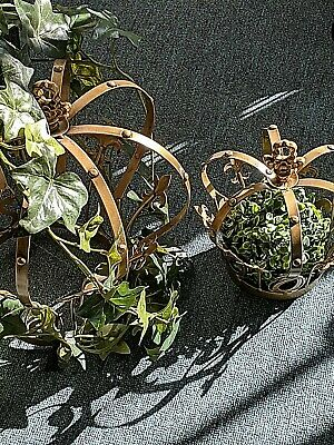 French style Decor  crown  set gold NEW wrought iron.