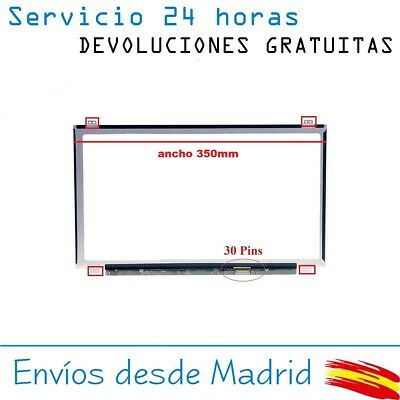 Pantalla De Y Para Portatil B156Xtn07.0 15-6 Hd Lcd Led 30 Pin Edp 1366X768