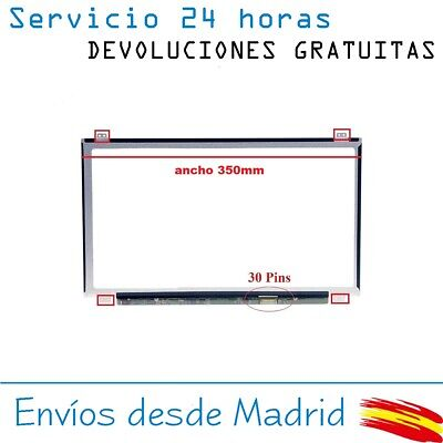 Pantalla De Y Para Portatil B156Xtn07.1 15-6 Hd Lcd Led 30 Pin Edp 1366X768