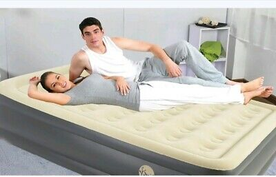 Jilong Inflatable High- Raised Airbed DOUBLE