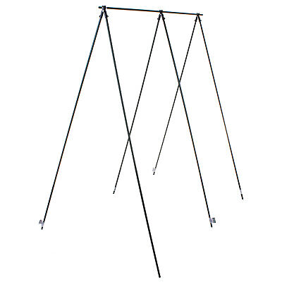 11mm PLANT STAKE SUPPORTS A FRAME PLASTIC COATED LIGHT STEEL BAMBOO CANE GARDEN