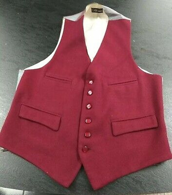 True Vintage Men's Wool Waistcoat Chest Size 36 Inches