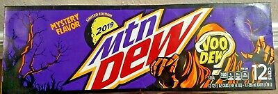 12 pack 12 oz Mountain Dew Voodew Voodoo Limited Edition - IN HAND - SHIPS ASAP!