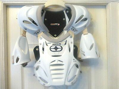 No Fear Junior Body Armour Chest Protector Motocross Mx Quad Bike Motorcycle