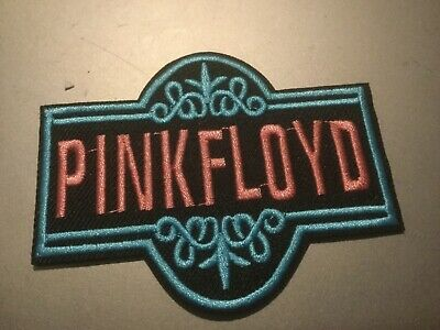 """Pink Floyd Band Logo Patch Rock Music Embroidered Iron On Applique 3.5""""x2.75"""""""