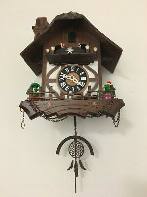 ..never seen --- new ---- different .........DREAM CATCHER CUCKOO CLOCK PENDULUM