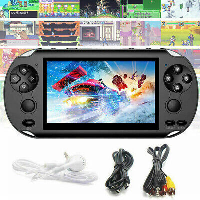 """UK 5.0"""" 128 Bit Handheld Video Game Built-In 1000 Games Console Portable Player"""