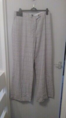 NEXT Grey Slouch Trousers 10R//16R//16T//18R RRP £38