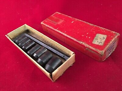 Vintage British Made BA Socket Set 0-6 Boxed