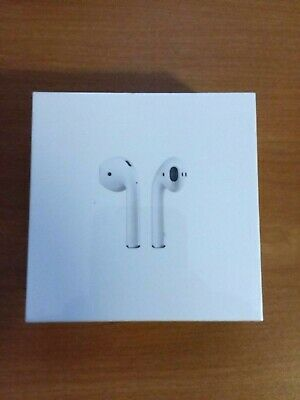 Apple AirPods 2nd Generation w/ Wireless Charging Case - White NEW and Sealed