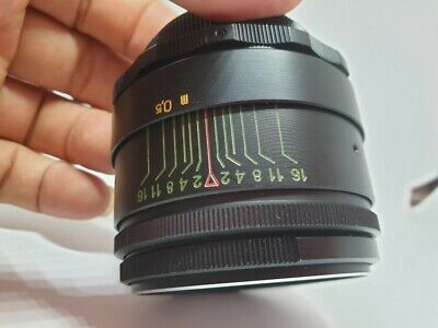 Vintage Helios 44-2 58mm F/2 Lens For Zenit Canon Nikon Sony from USSR