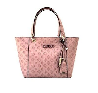 Borsa Guess kamryn shopper logata VD669123 peach