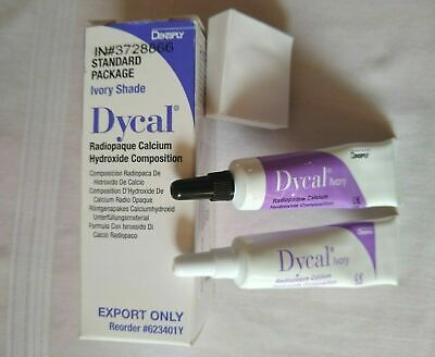 5X Dental DYCAL Ivory Dentin Radiopaque Calcium Hydroxide pulp capping EXP:2021