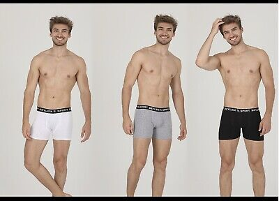 Mens Boxer shorts 3 Pack Assorted Boxer Shorts Underwear