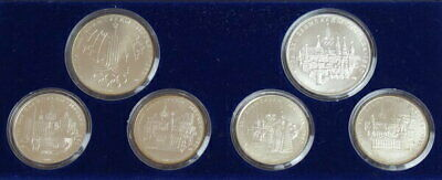 1980 Russian Moscow Olympics Silver Coin Proof 6 Types Set From Japan Mint F7