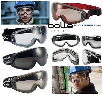 Bolle PILOT Safety Goggles Fit over Prescription Spectacles Glasses New Version