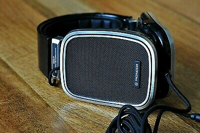 Classic Pioneer Se-500 High Polymer Stereo Headphones