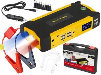 Power Bank - Jump Starter 16800mAh JS-19 and Charger LED / USB
