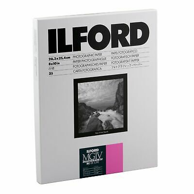 Ilford Multigrade IV RC Deluxe Resin Coated VC Variable Contrast - Black and ...