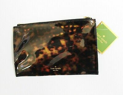 kate spade new york Pencil Pouch Tortoise