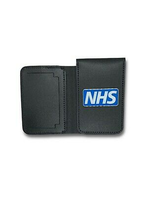 NHS Ambulance Service ID/Card Leather Holder Wallet - First Responder, Paramedic