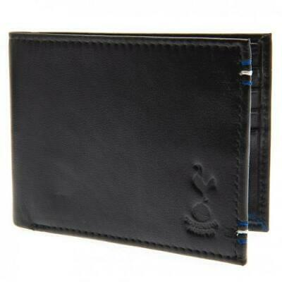 Tottenham Hotspur Fc Crest Embossed Genuine Leather Wallet - Official Gift