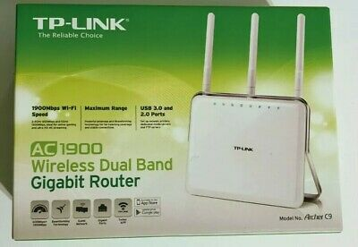 TP-Link AC1900 Archer C9 Dual Band Fast Wireless Gigabit WiFi untested