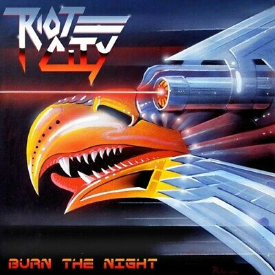 CD: Riot City – Burn The Night (2019) * Heavy Metal * Fast FREE Shipping