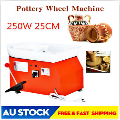 250W Pottery Wheel Pottery Machine For Ceramic Work Ceramics Clay Foot Pedal TQ