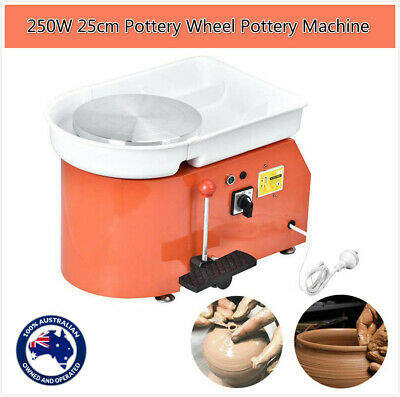 250W Pottery Wheel Pottery Machine For Ceramic Work Ceramics Clay Foot Pedal Nq