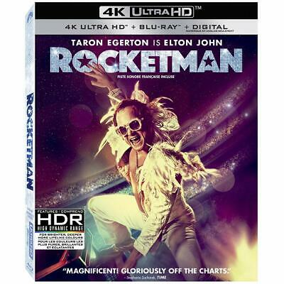 ROCKETMAN (2019) [4K DISC+case & SLIPCOVER. Also includes BOOKLET]