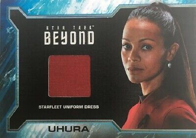 Star Trek Beyond SR3 Relic Card Zoe Saldana as Uhura Wardrobe Material