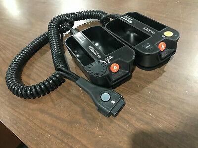 PHYSIO-CONTROL LIFEPAK 15 HARD PADDLES PN: 11130-000061 Great Condition
